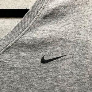 Nike Tops - NIKE Grey V-Neck T-Shirt